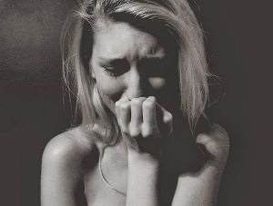 girl crying