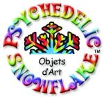 psychedelic snowflake logo